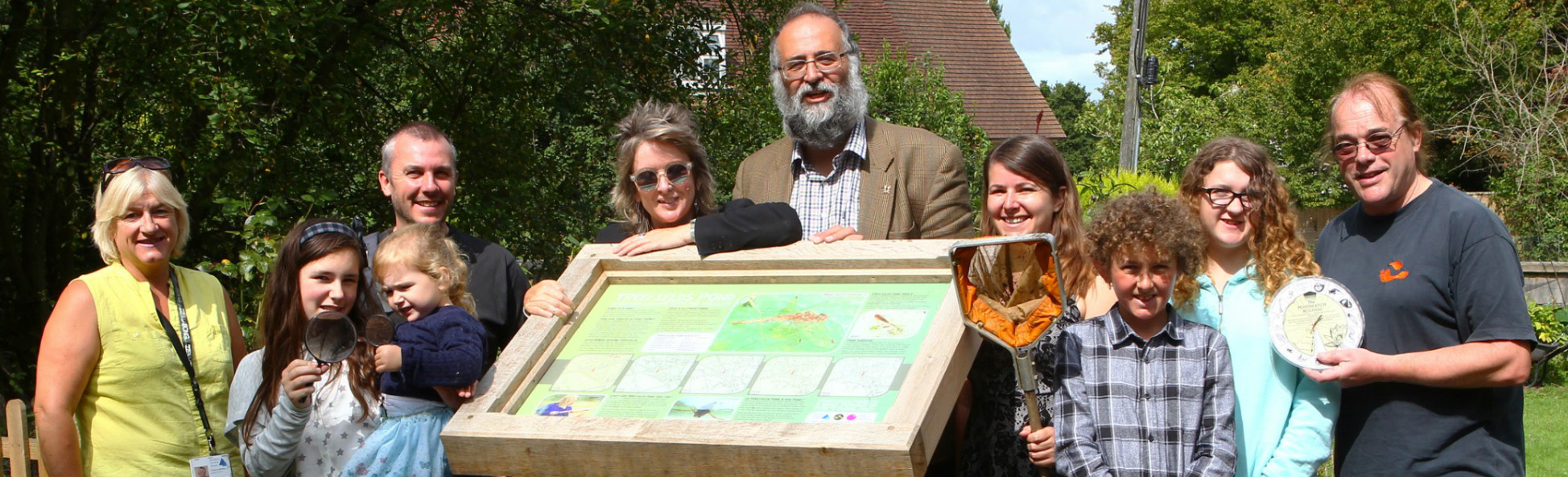 New interpretive board pays tribute to Ryde's rural history