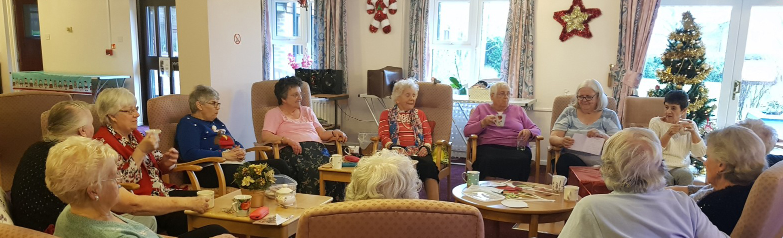 Christmas in a box is a hit for sheltered housing