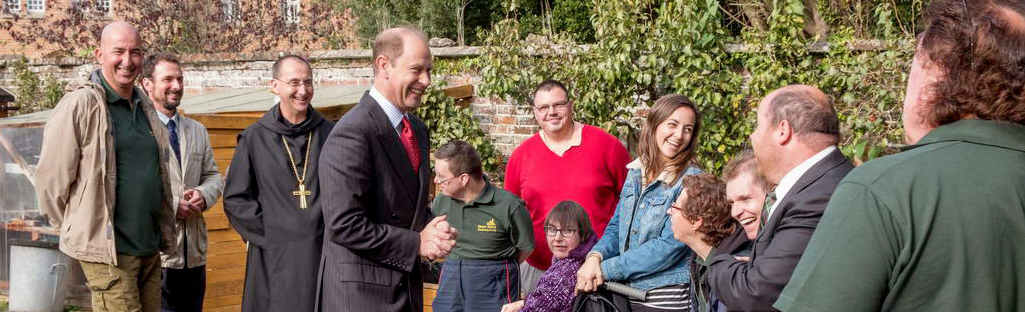 A royal visit for Isle of Wight community project